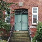 iebe Grüße von Anke Wertenbruch-Wunderschöne Tür im alten Skipperhuus in Husum