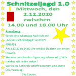 Einladung 1.0 am 2.12.20